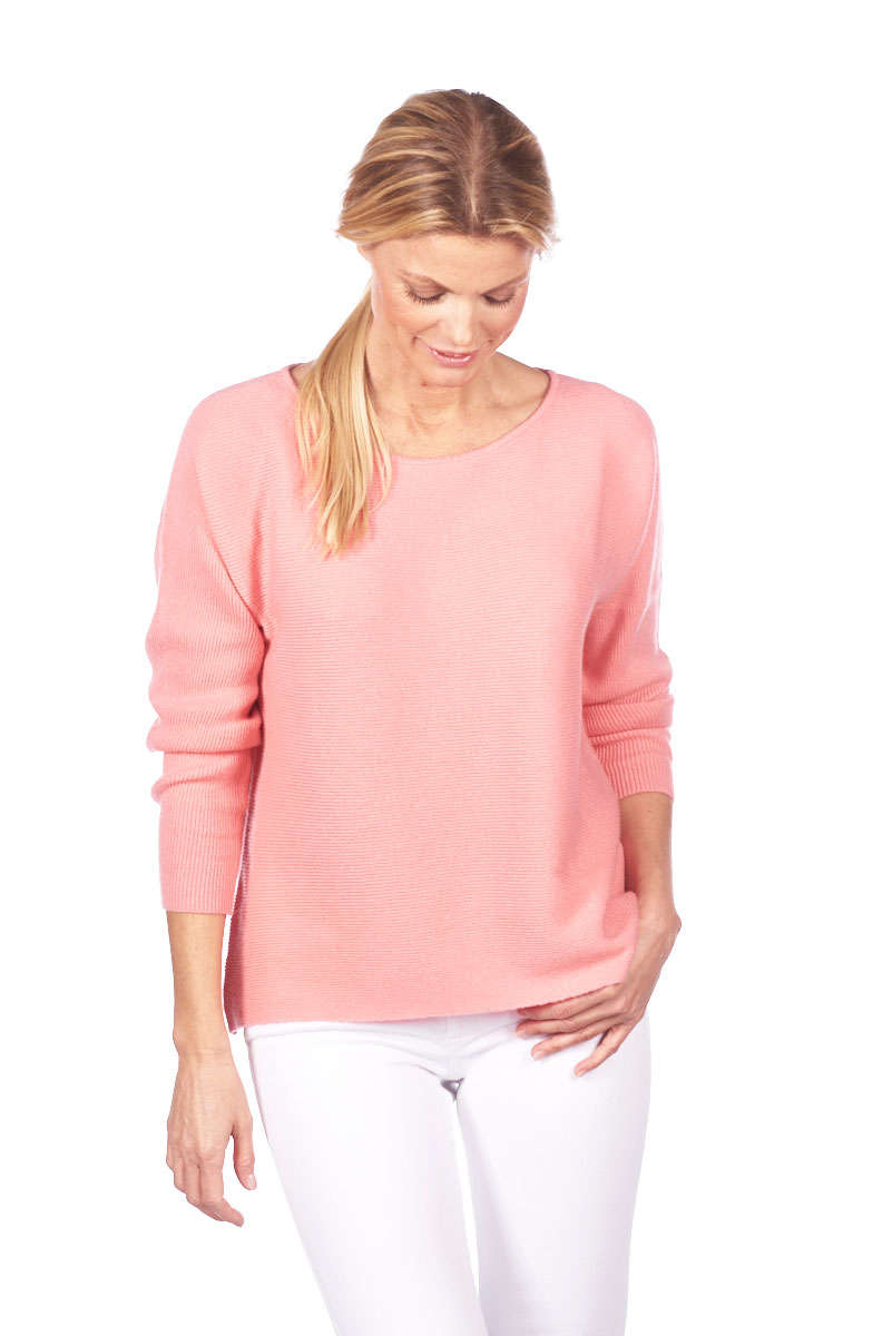 O-NECK SWEATER RIB